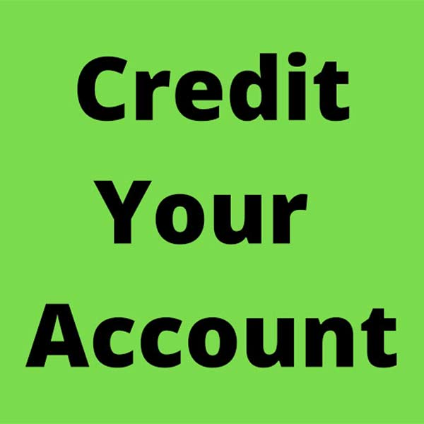 Credit Your Account