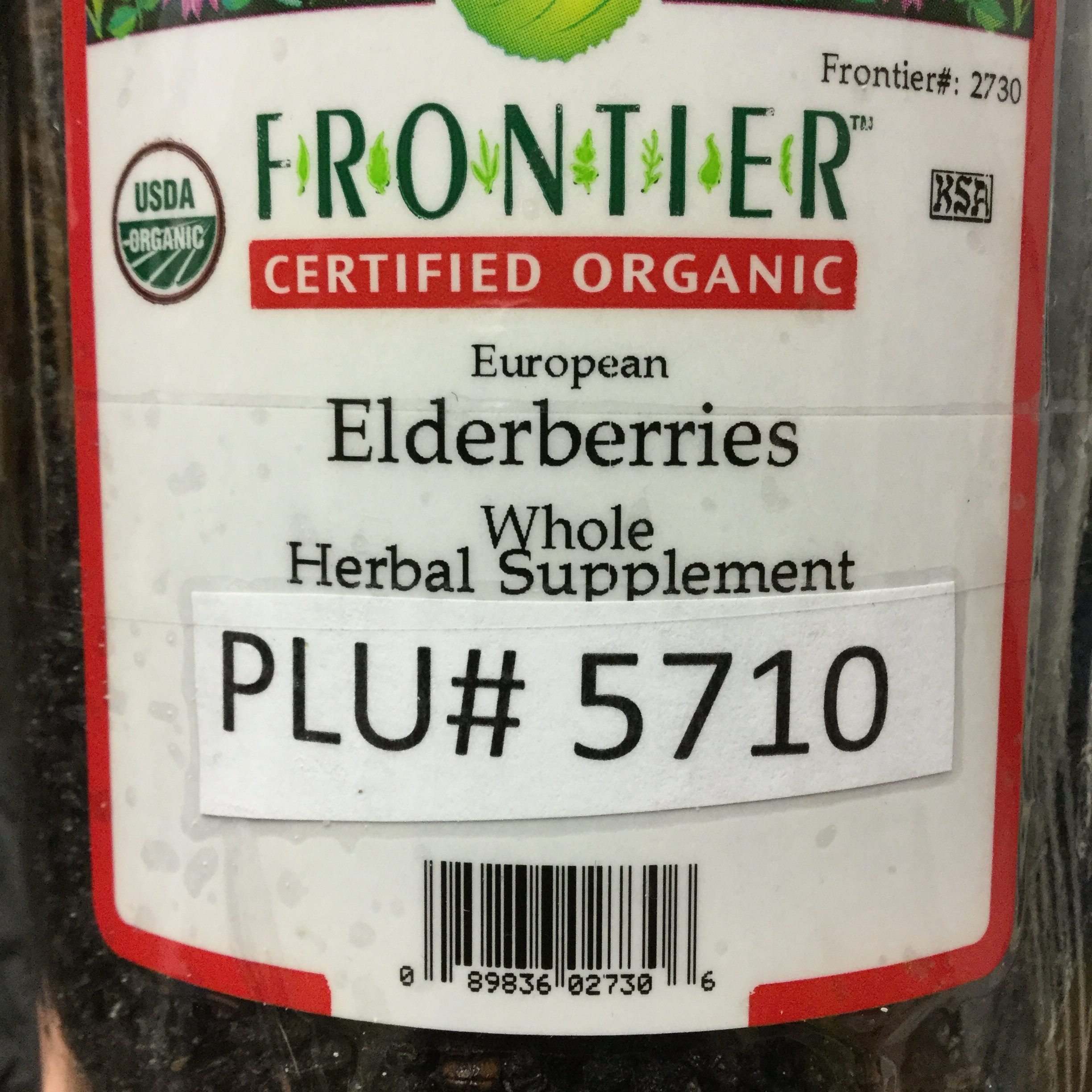Elderberries, European (0.25 lb)