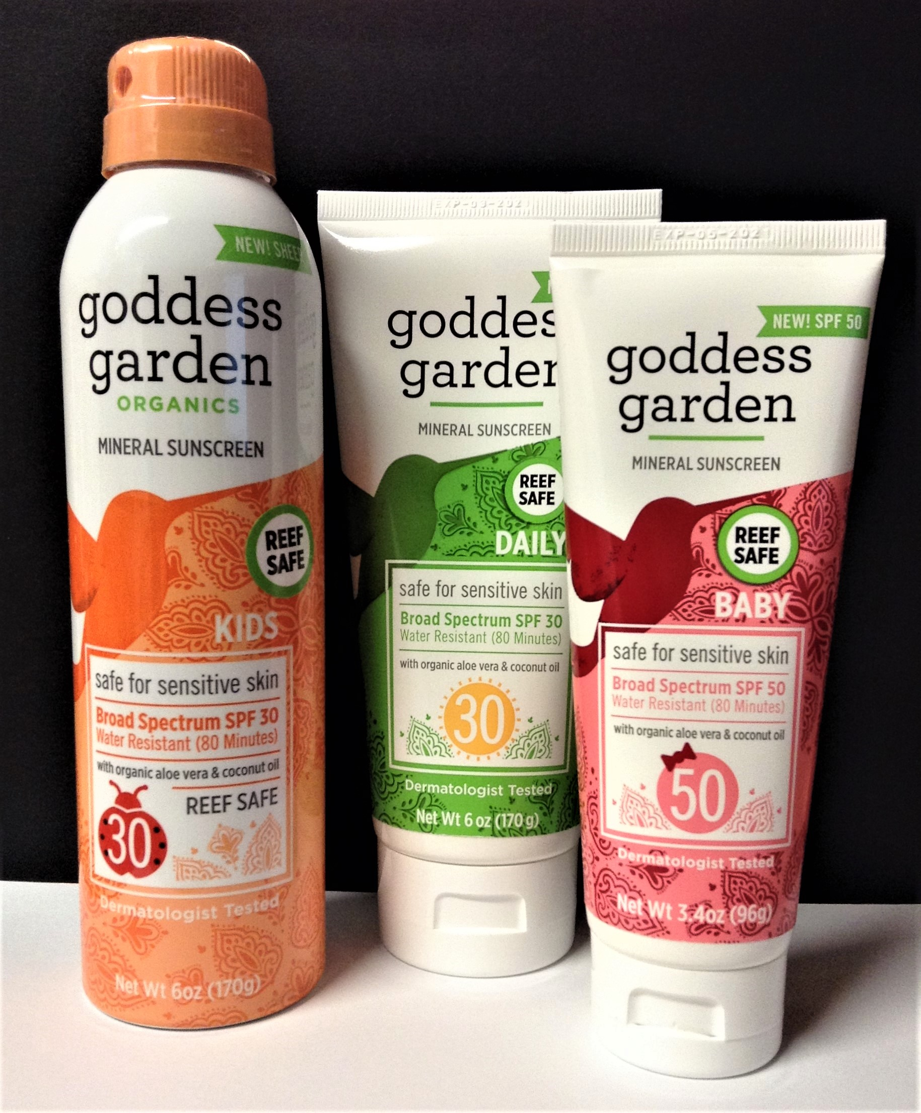 GODDESS GARDEN Mineral Sunscreen for Baby and Beyond!