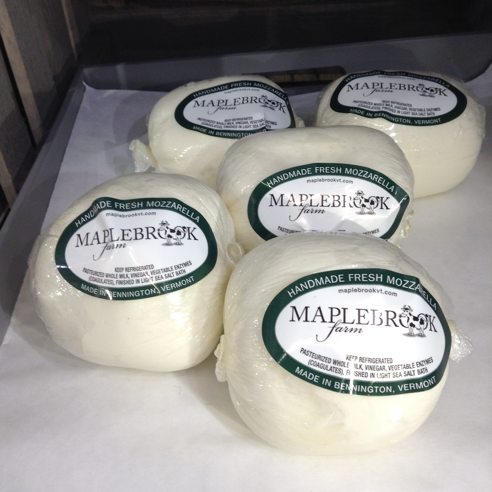 Maplebrook Farm Handmade Fresh Mozzarella
