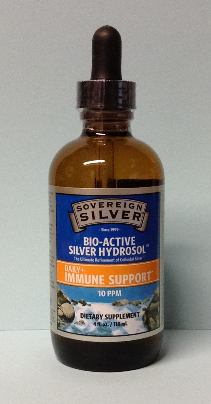 Bio-Active Silver Hydrosol by SOVEREIGN SILVER