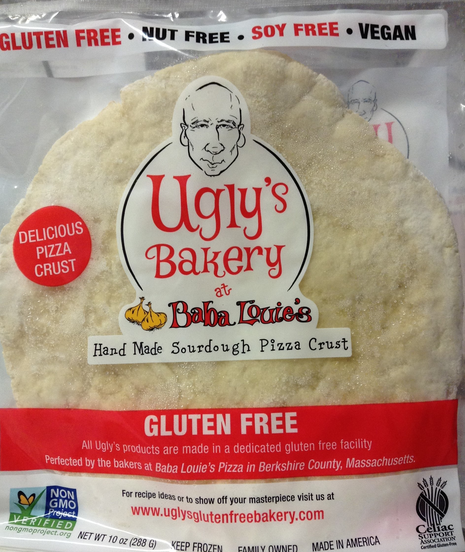 UGLY'S BAKERY Pizza Crust