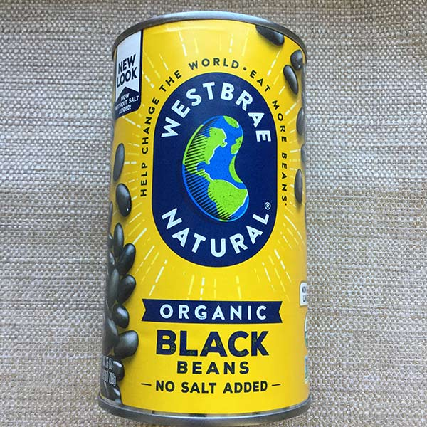 Westbrae - Black Beans 25 oz