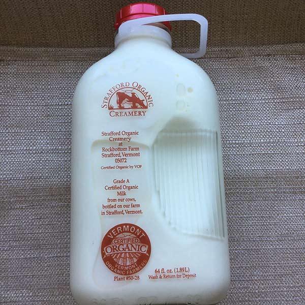 Strafford Organic Creamery Milk and Half&Half