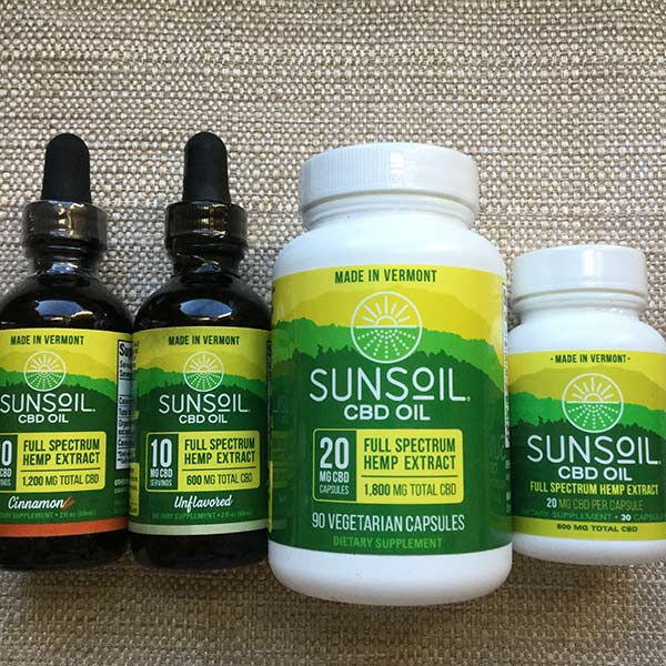 SunSoil - CBD Extract Dropper Top