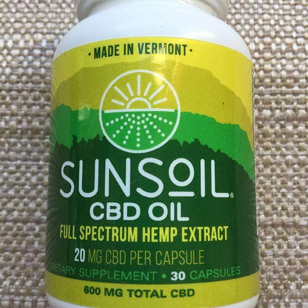 SunSoil - CBD Capsules