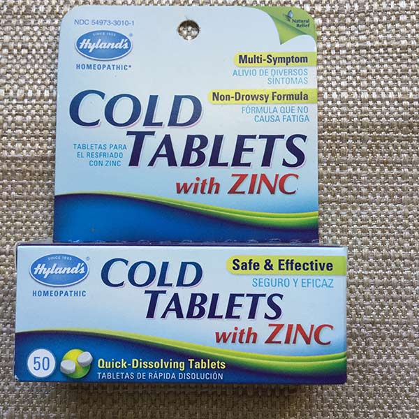 Hyland's - Cold Tablets with Zinc