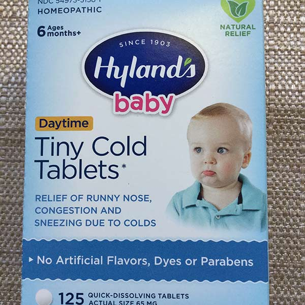 Hyland's - Tiny Cold Tablets