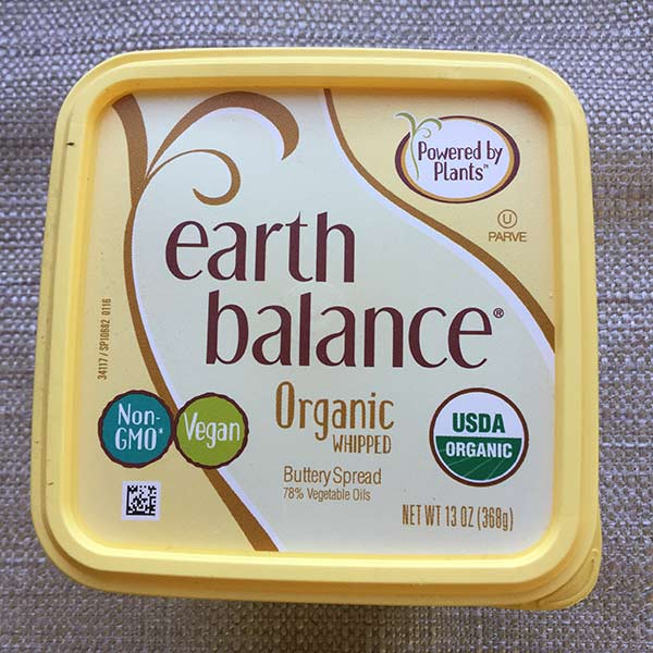 Earth Balance Whipped Buttery Spread