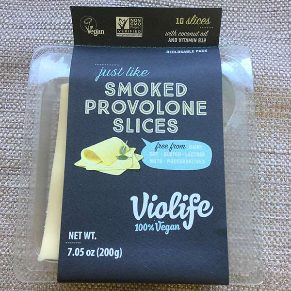 Violife Just Smoked Provolone Slices