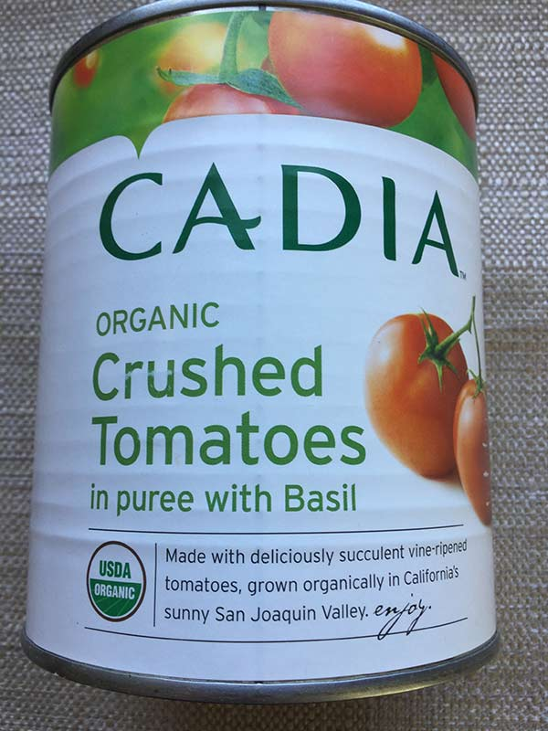 Cadia - Crushed tomatoes with Basil 28oz