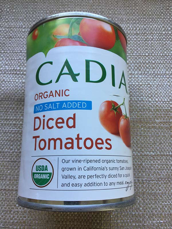 Cadia - Diced tomatoes 14.5 oz
