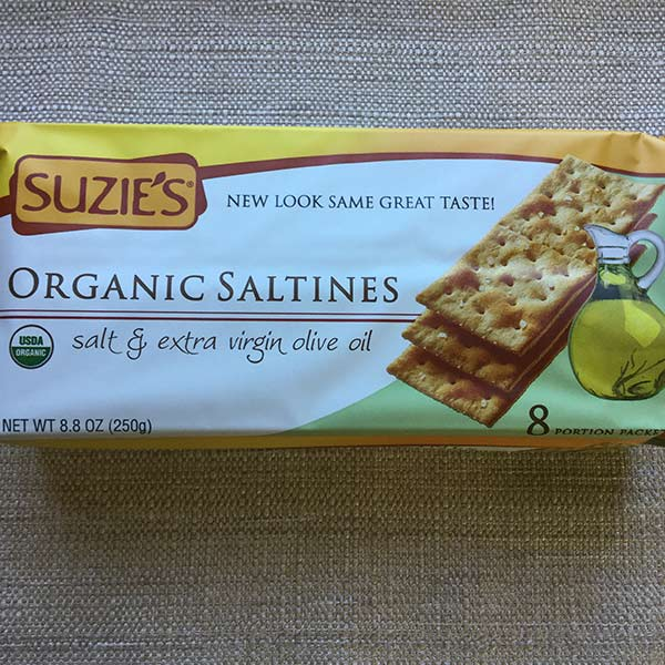Suzie's - Saltines 8.8oz