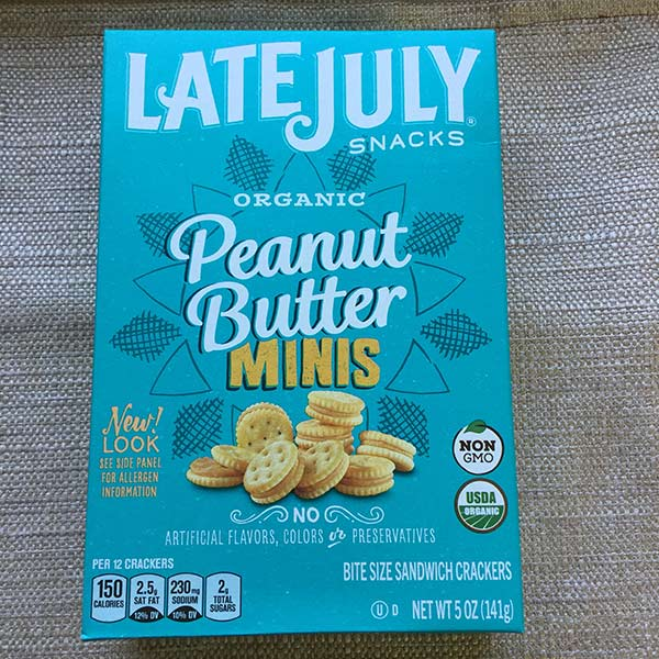 Late July - Peanut Butter Minis Crackers 5oz
