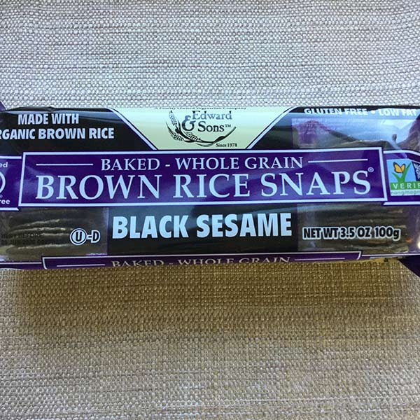 Edward and Son's - Brown Rice Snaps 3.5oz