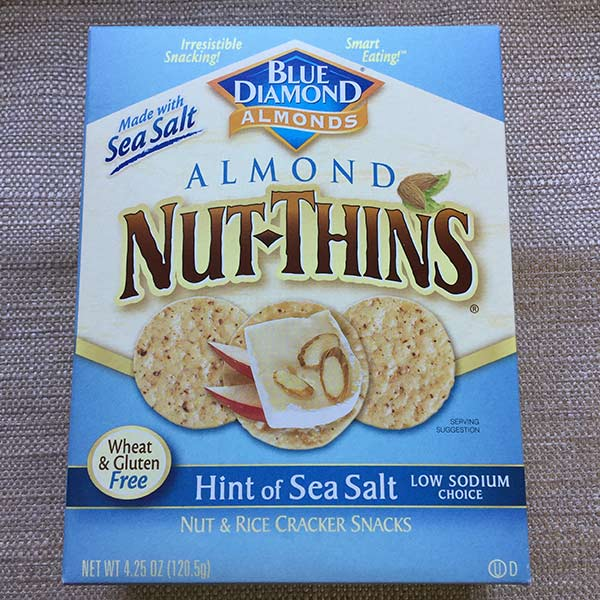 Blue Diamond - Almond Nut-Thins 4.25oz