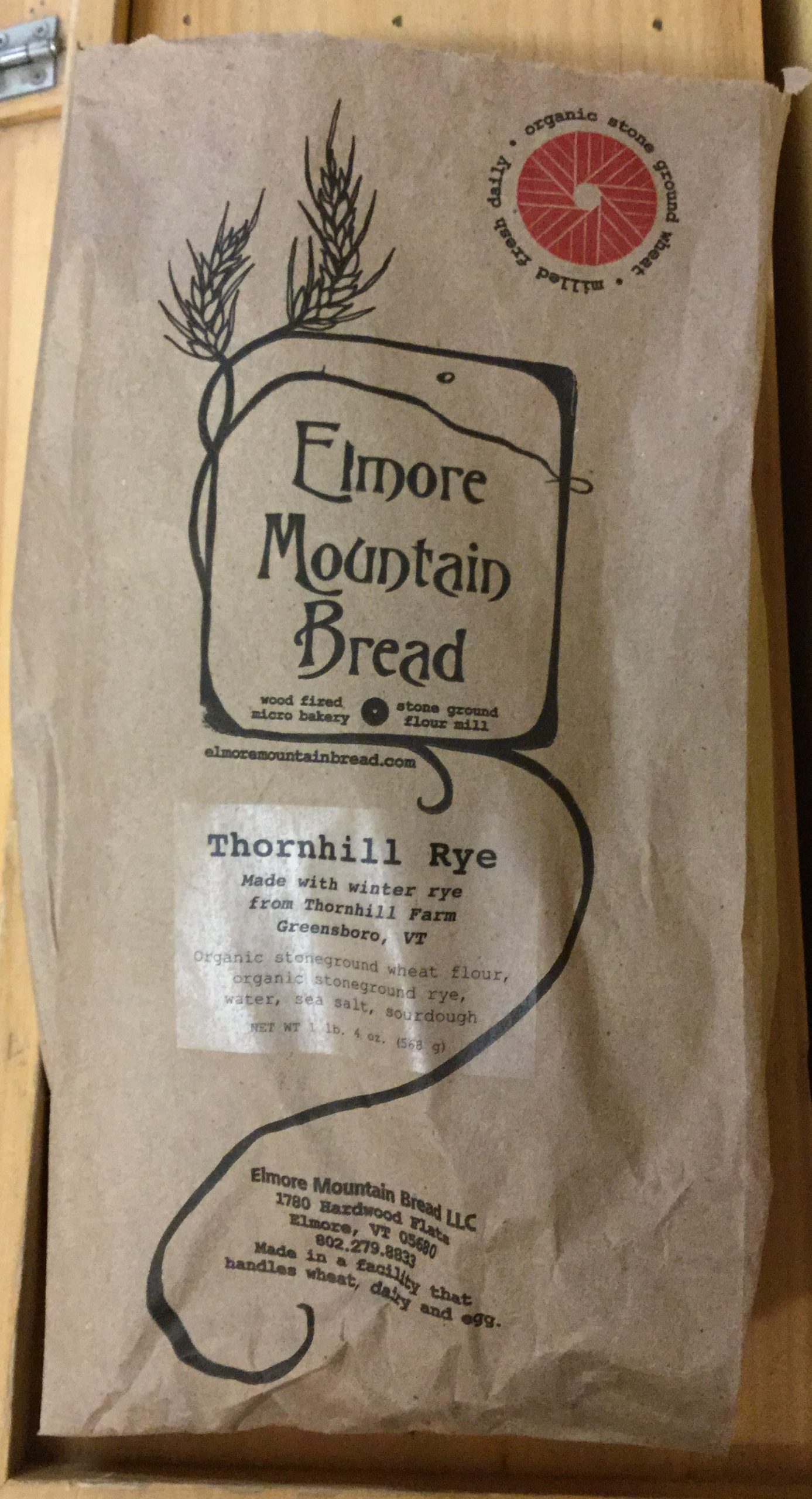Elmore Mountain Bread