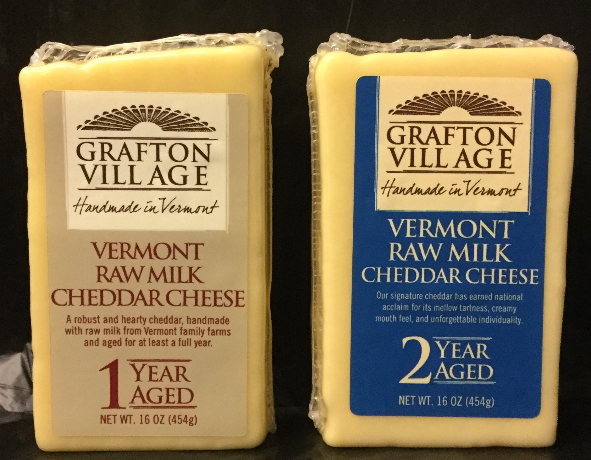 Grafton Village Vermont Raw Milk Cheddar Cheese