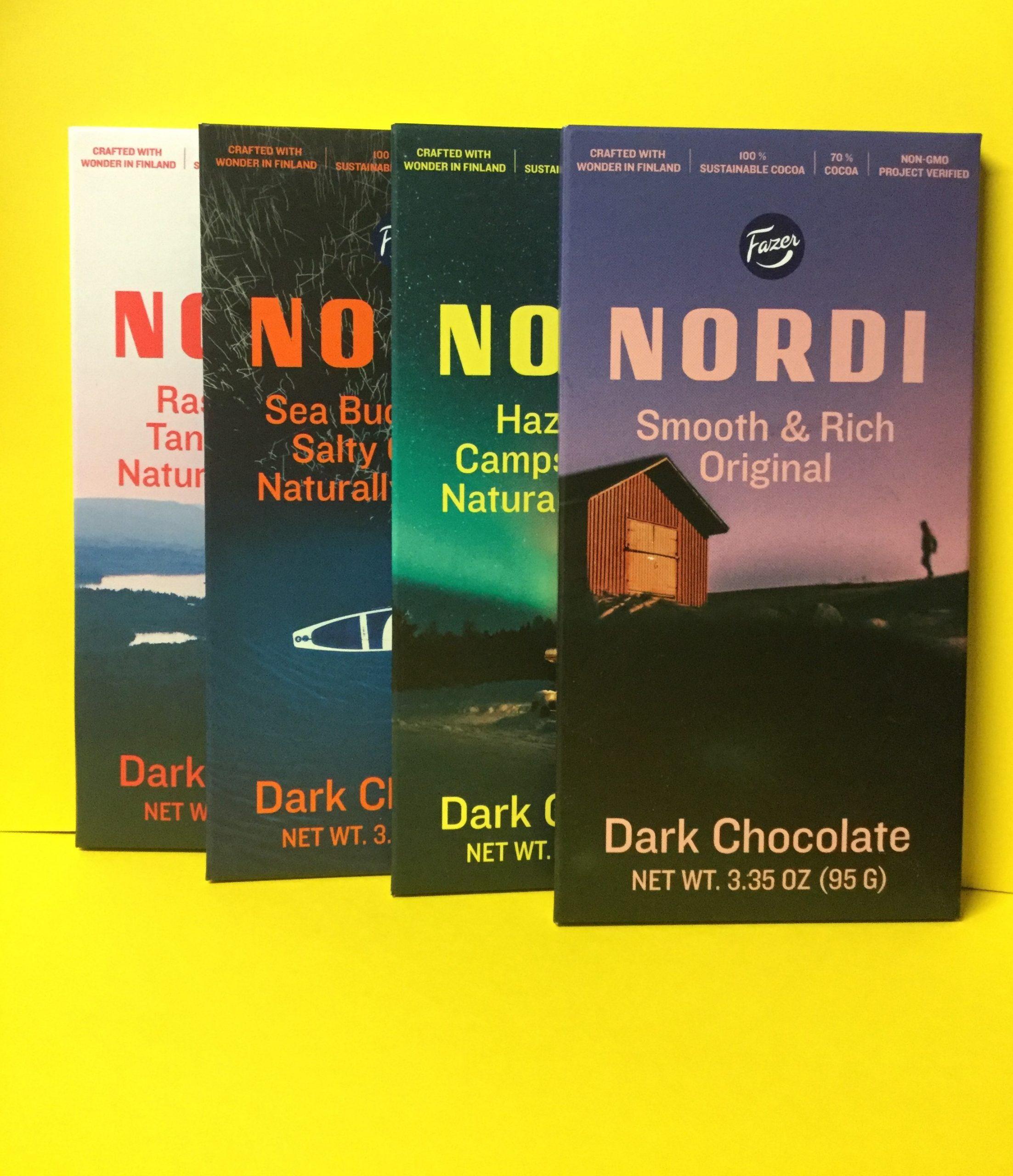Fazer NORDI Dark Chocolate Bar