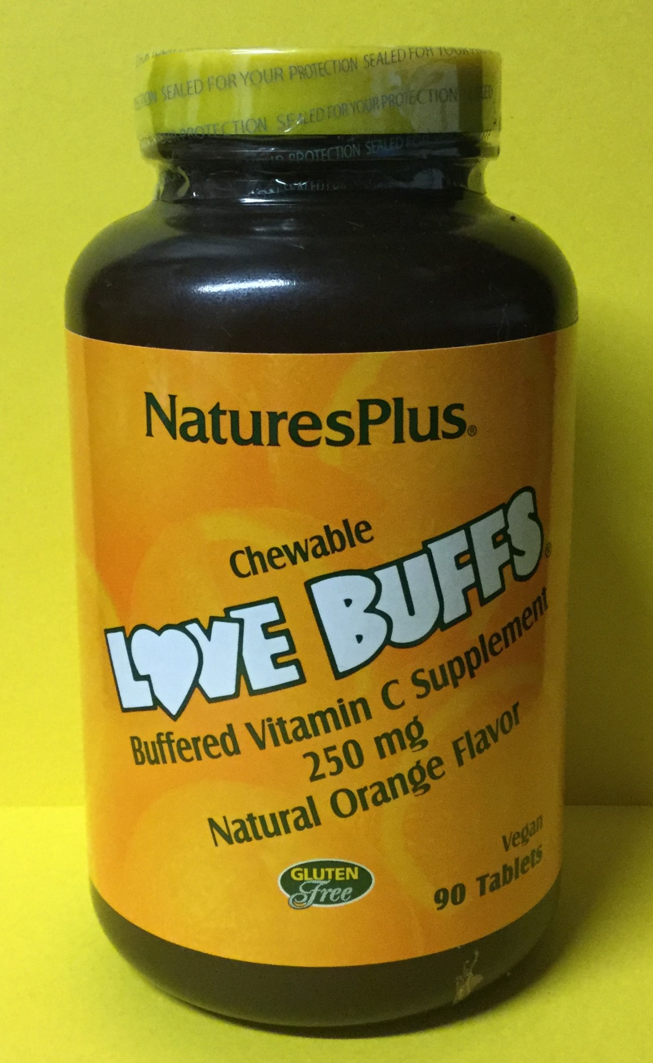 Nature's Plus - Chewable Vitamin C 250mg