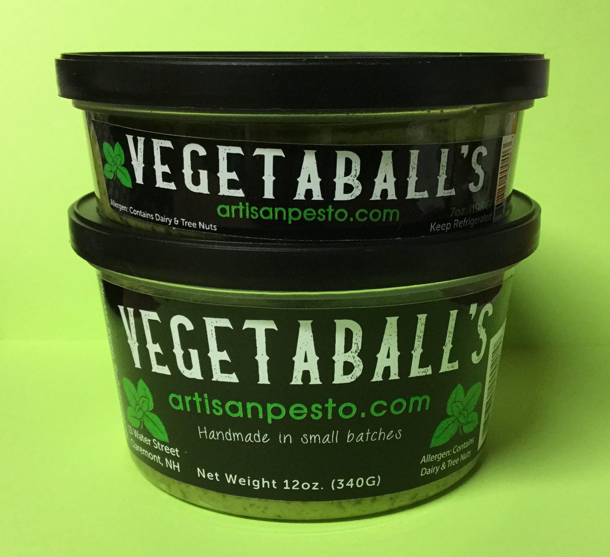Vegetaball's Fresh Basil Pesto