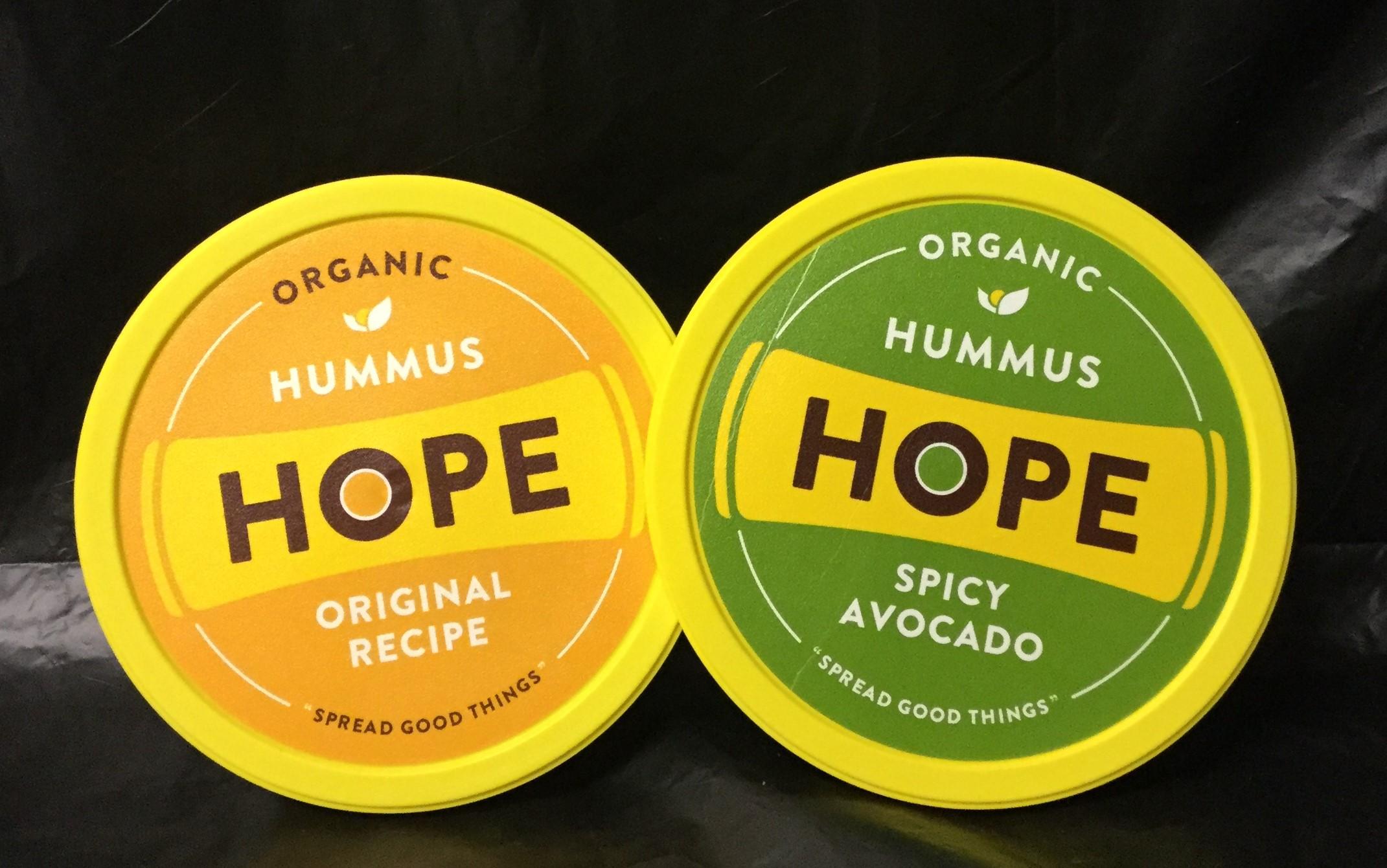 HOPE Organic Hummus - 8 oz
