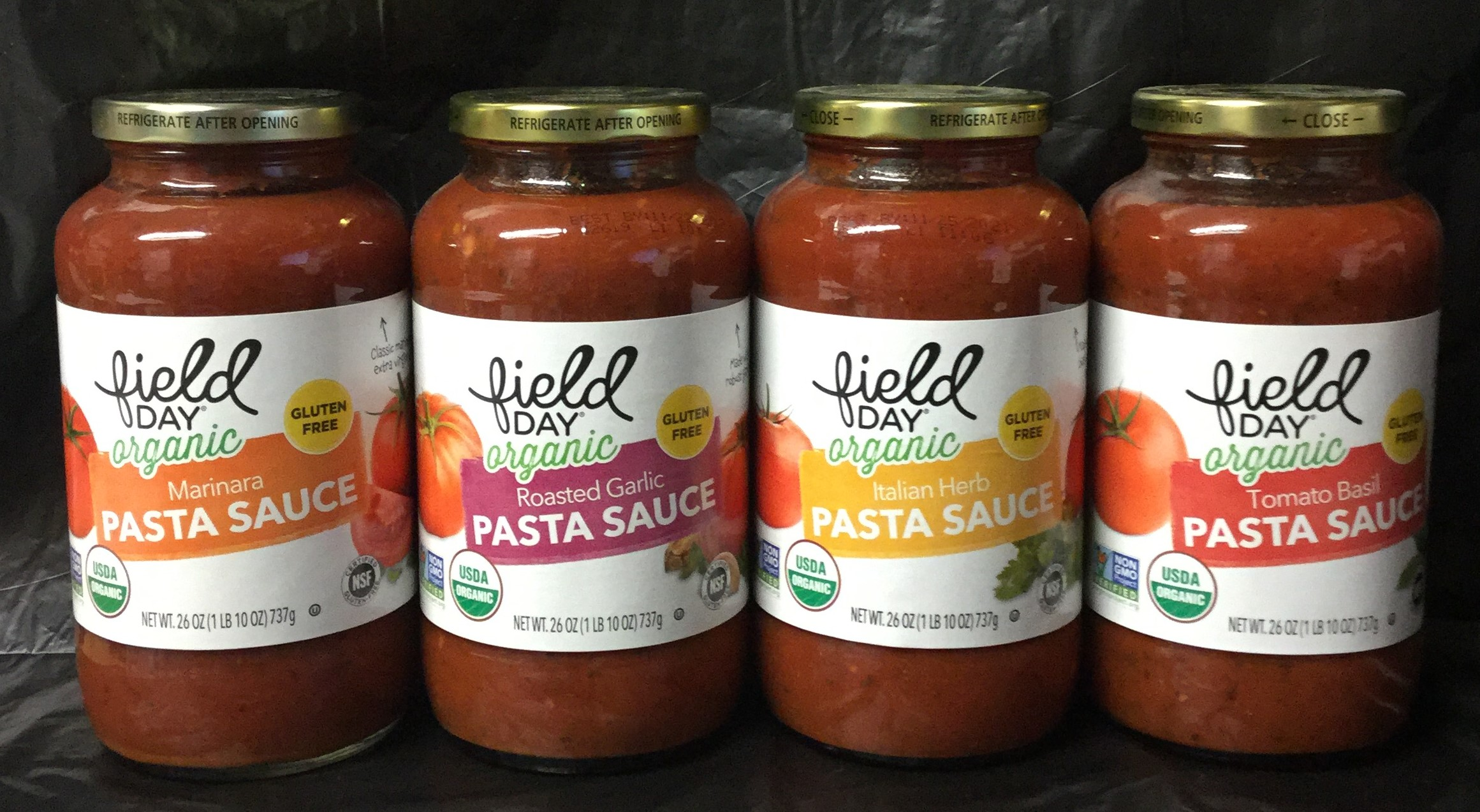 FIELD DAY Organic Pasta Sauce, 26 oz
