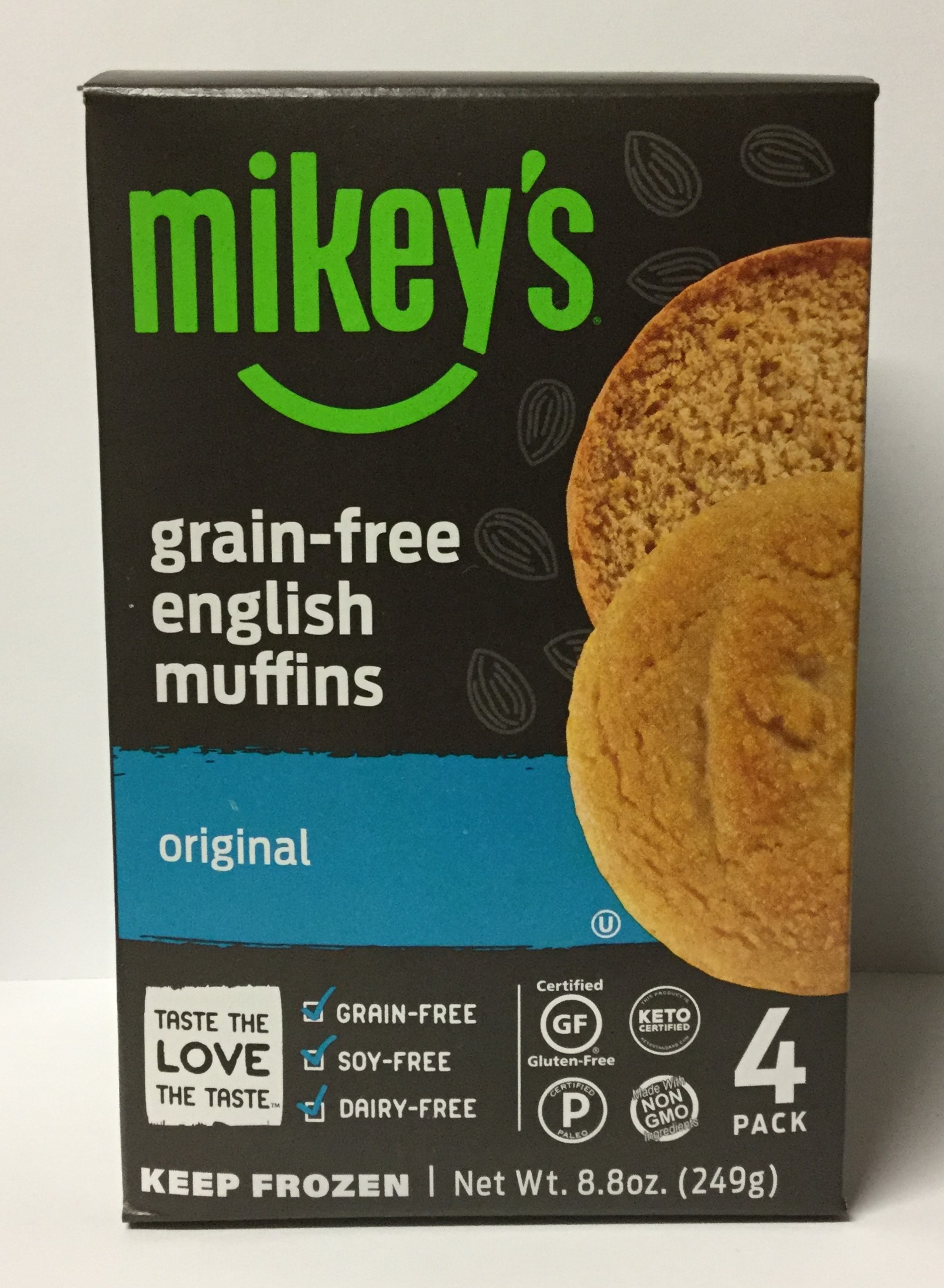 MIKEY'S Grain-Free English Muffins - 4pk
