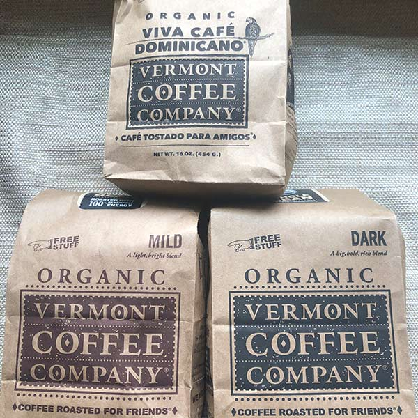 Vermont Coffee Company Whole Bean Coffee