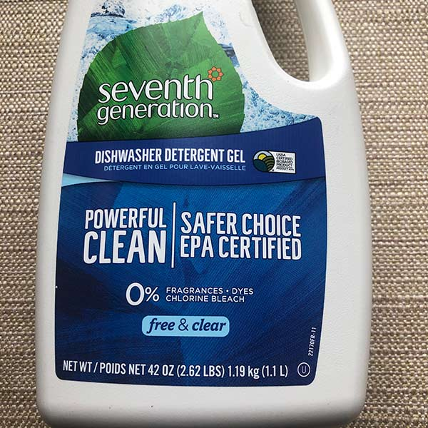 Seventh Generation - Dishwasher Detergent Gel 42 oz