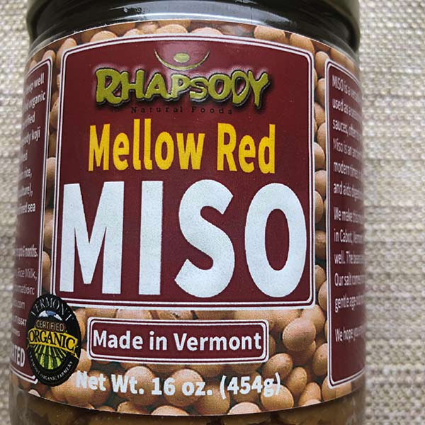 Rhapsody Mellow Red Miso