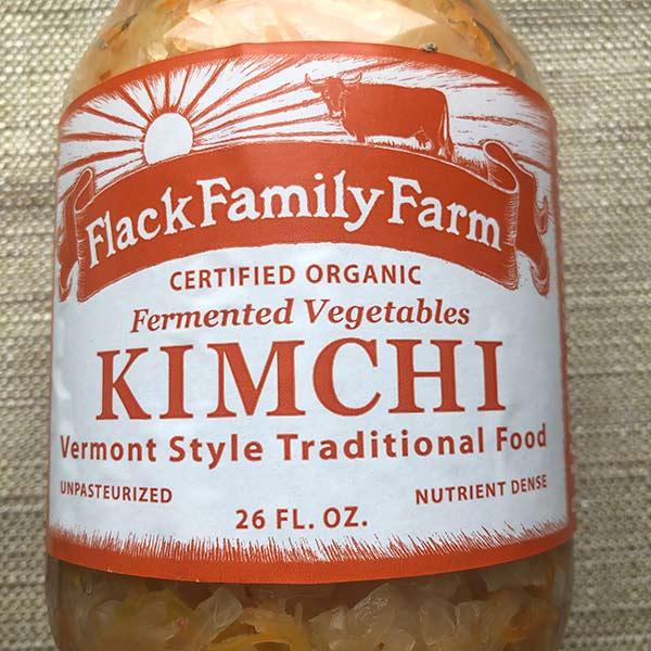 Flack Family Farm Organic Kimchi