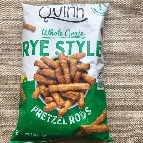 Quinn - GF Rye Style Pretzels 7oz