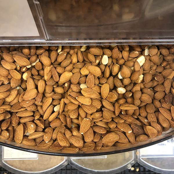 Nuts, Organic Almonds - Quarter of Lb.