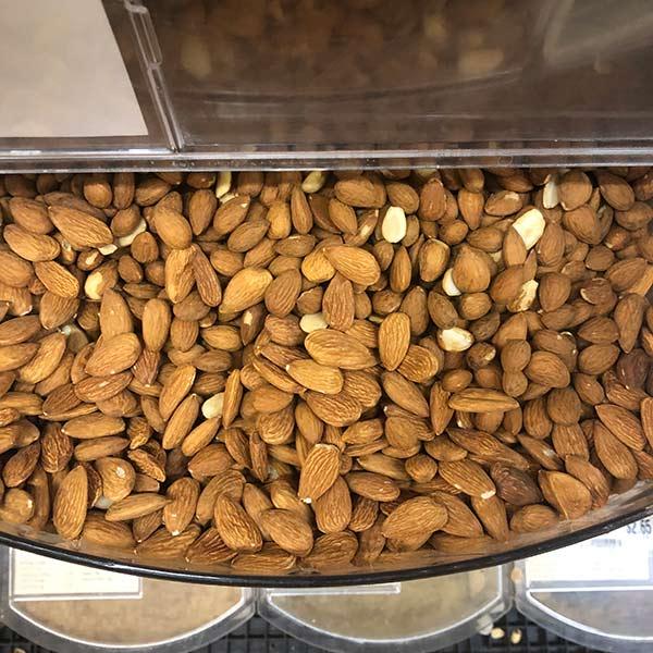 Nuts, Organic Almonds - Quarter of Lb.