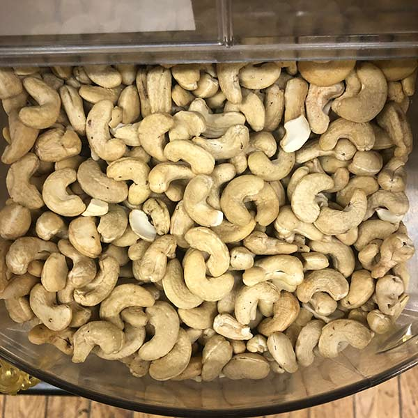 Organic Raw Cashews - .25 lb.