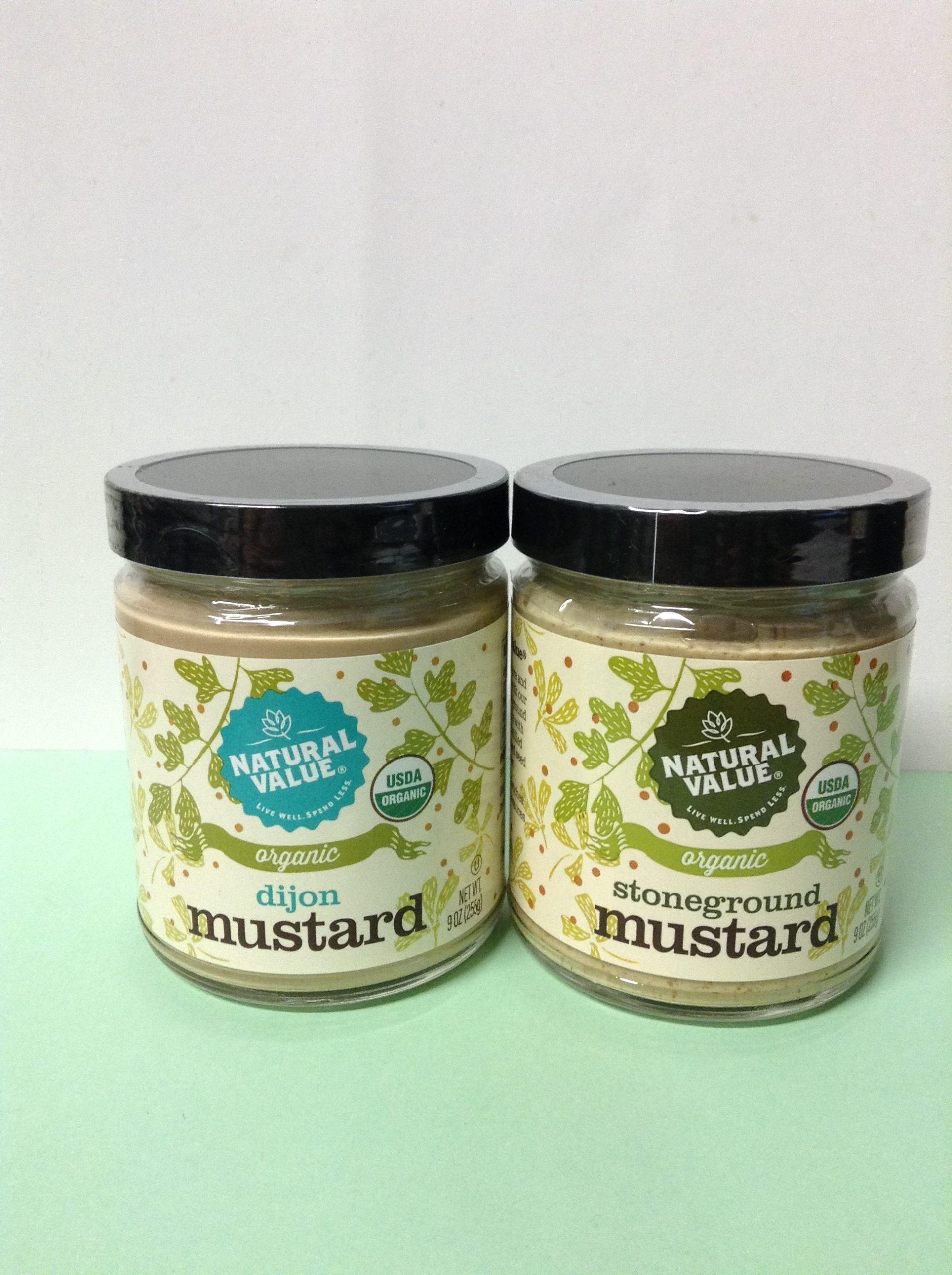 NATURAL VALUE Organic Mustard