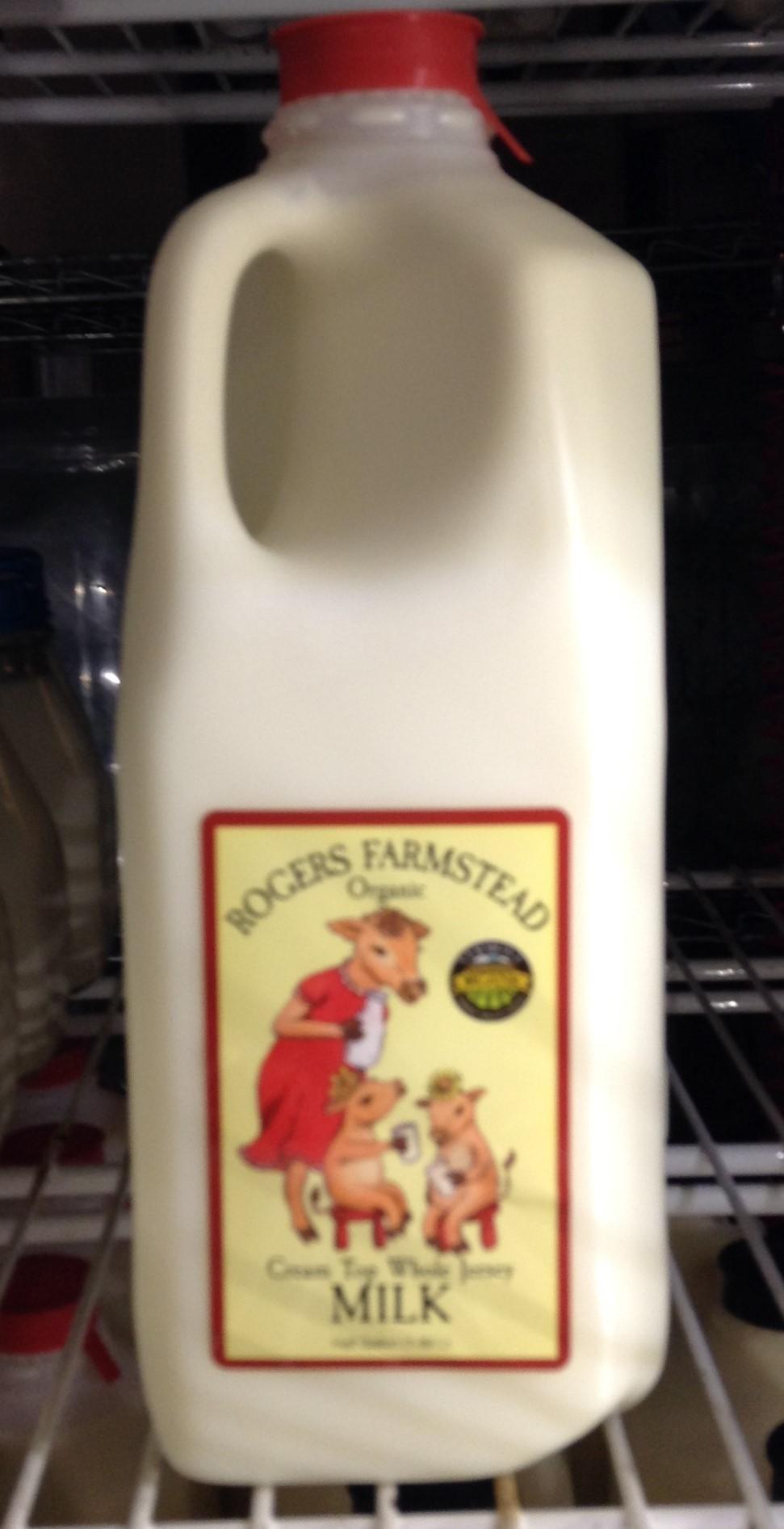 Rogers Farmstead Organic Milk