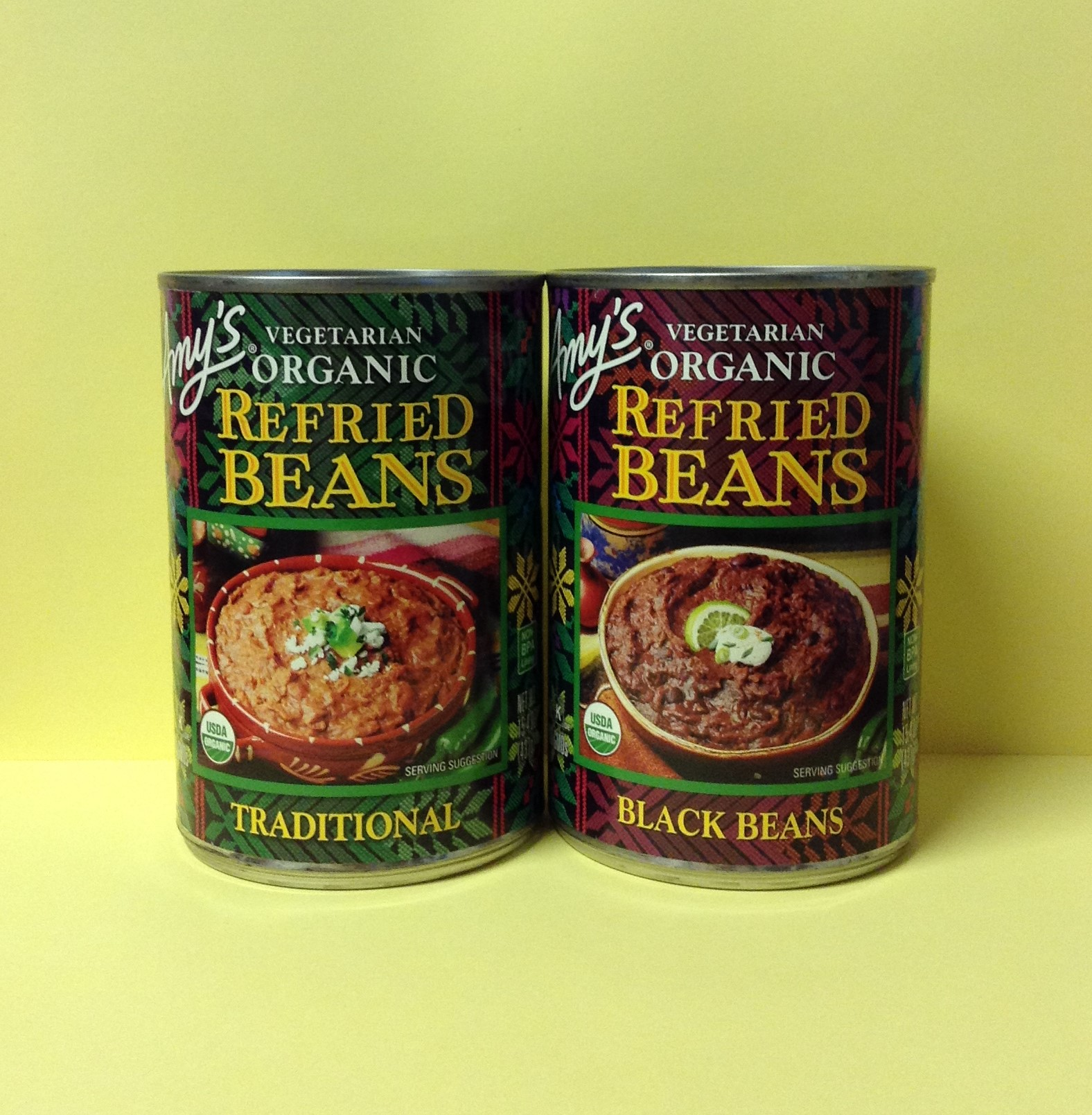 AMY'S Organic Vegetarian Refried Beans