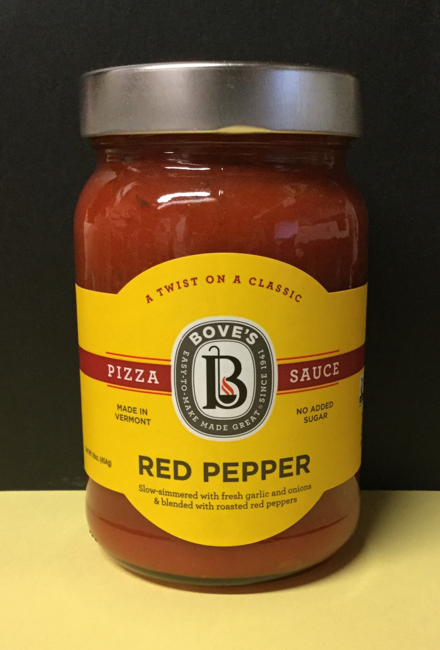 Bove S Red Pepper Pizza Sauce Buffalo Mountain Food Coop Cafe