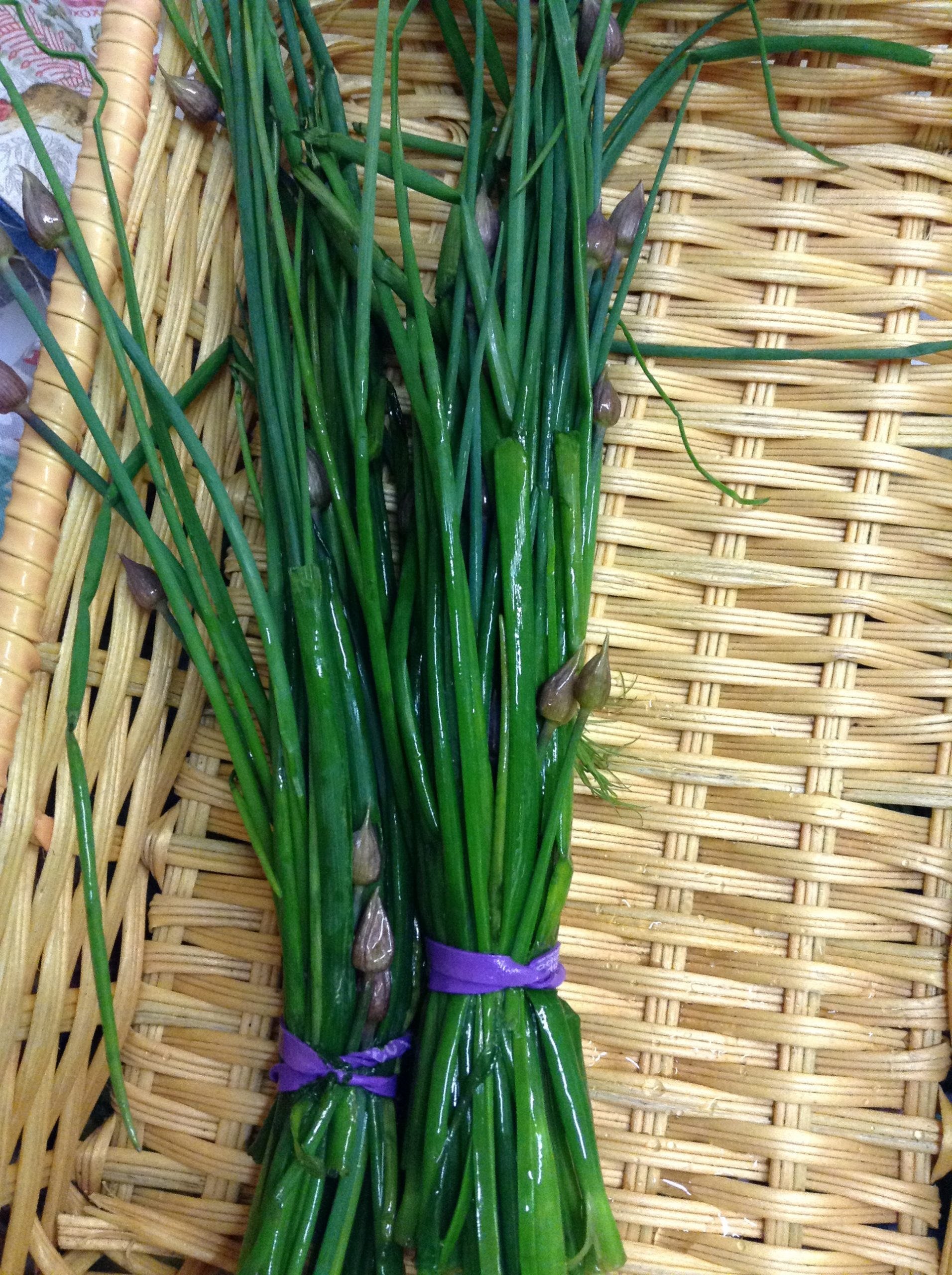 LOCAL Chives, organically-grown