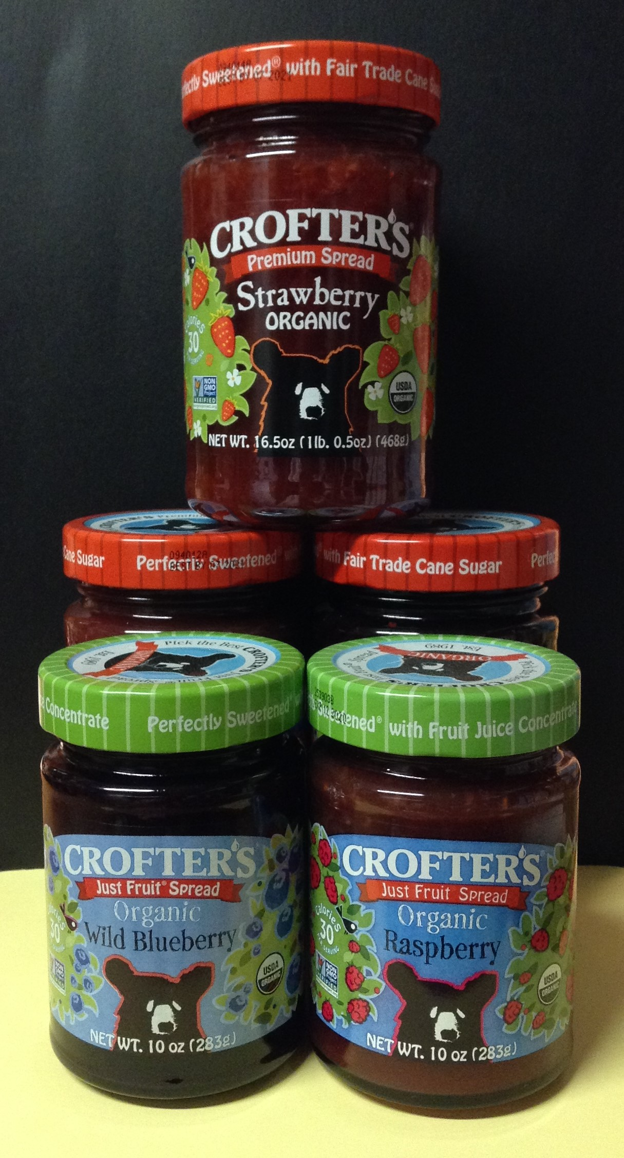 CROFTER'S Organic Premium Fruit Spreads