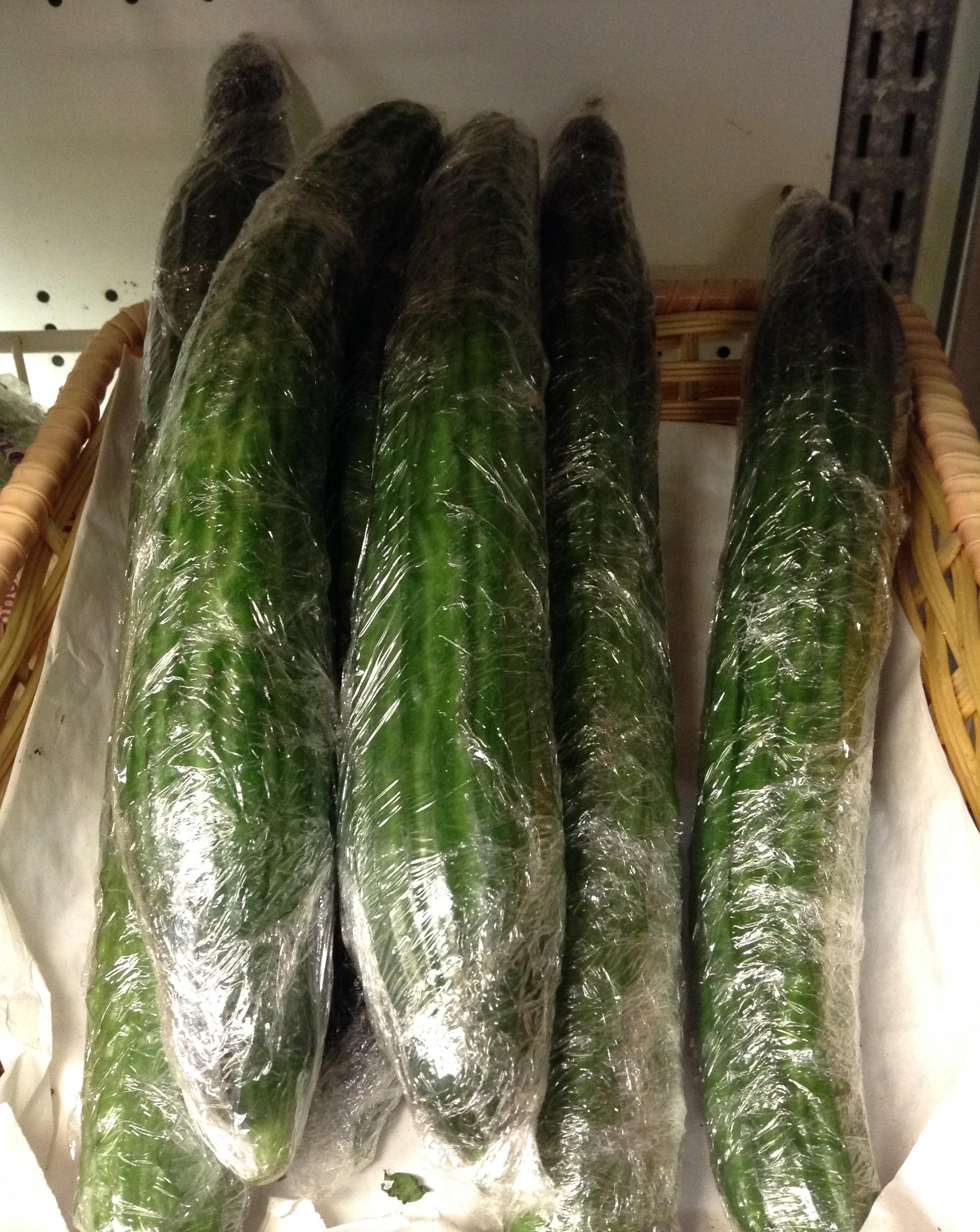 Organic English Cucumbers