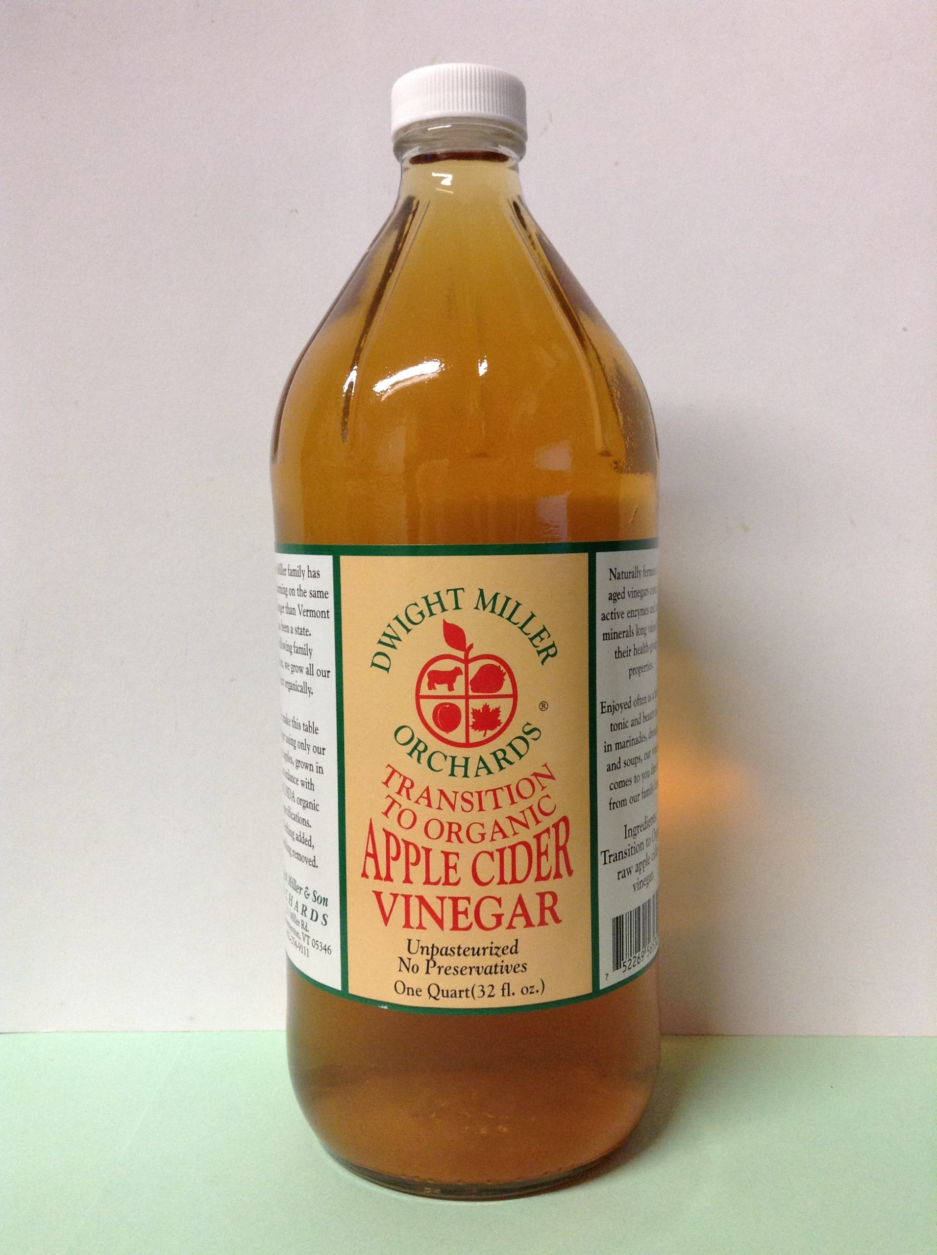 DWIGHT MILLER ORCHARDS Apple Cider Vinegar