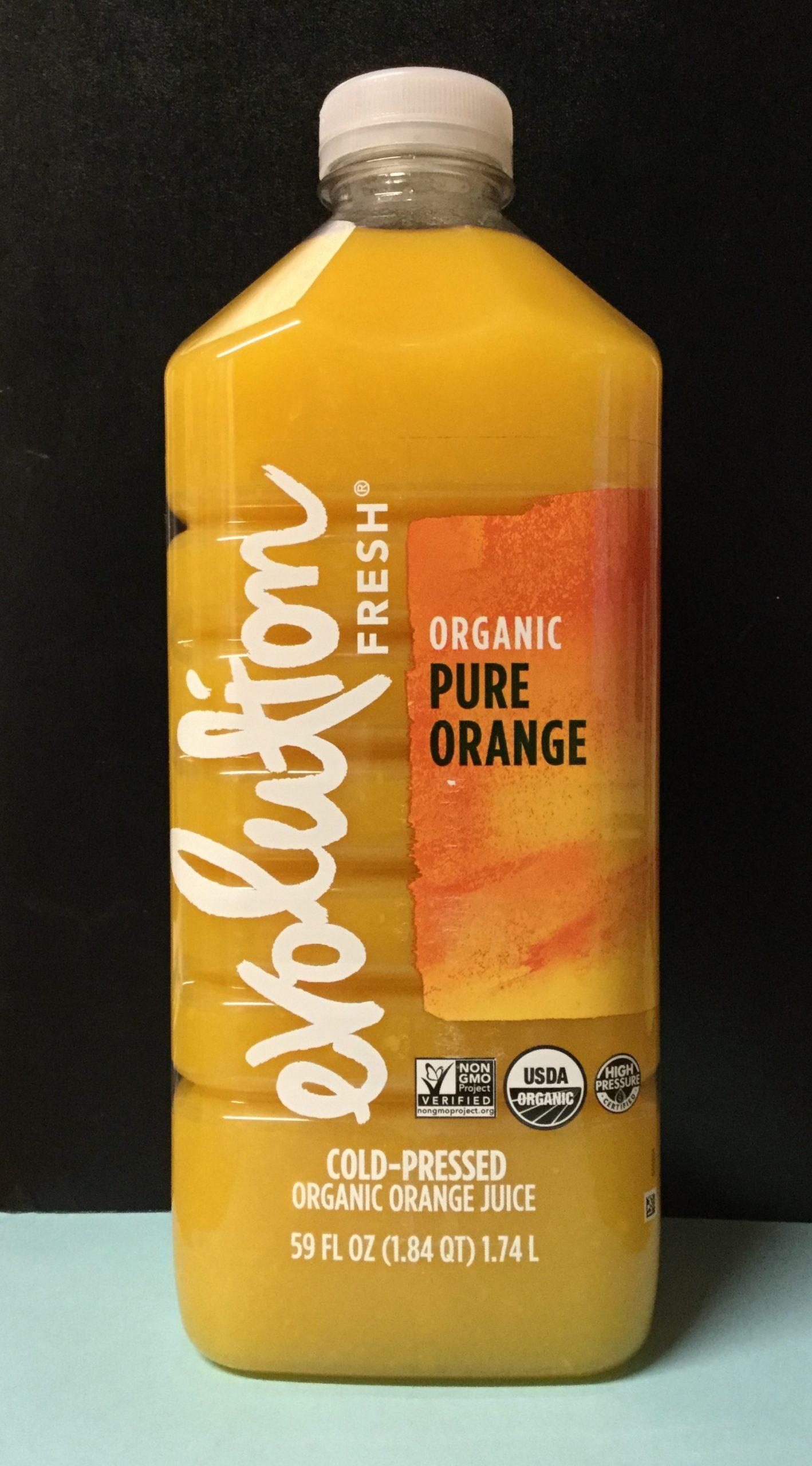 EVOLUTION Cold-Pressed Organic Orange Juice