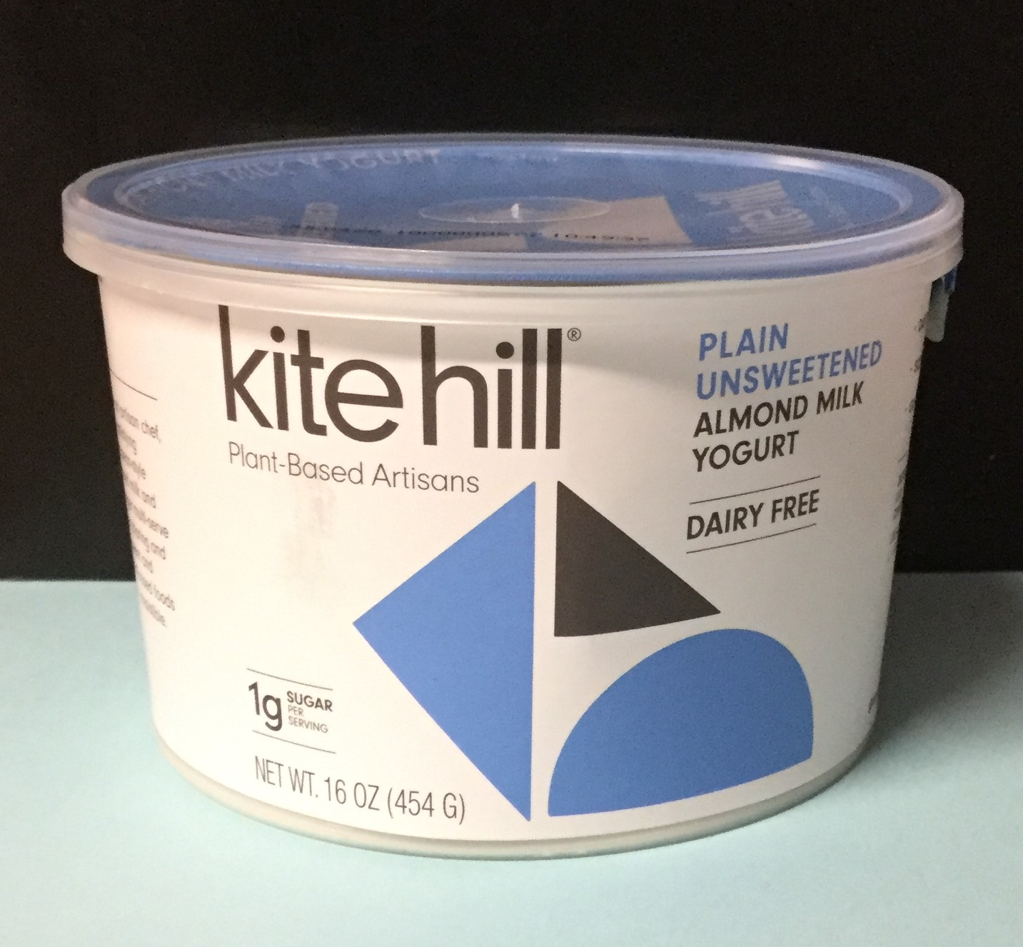 KITE HILL Plain Unsweetened Almond Milk Yogurt