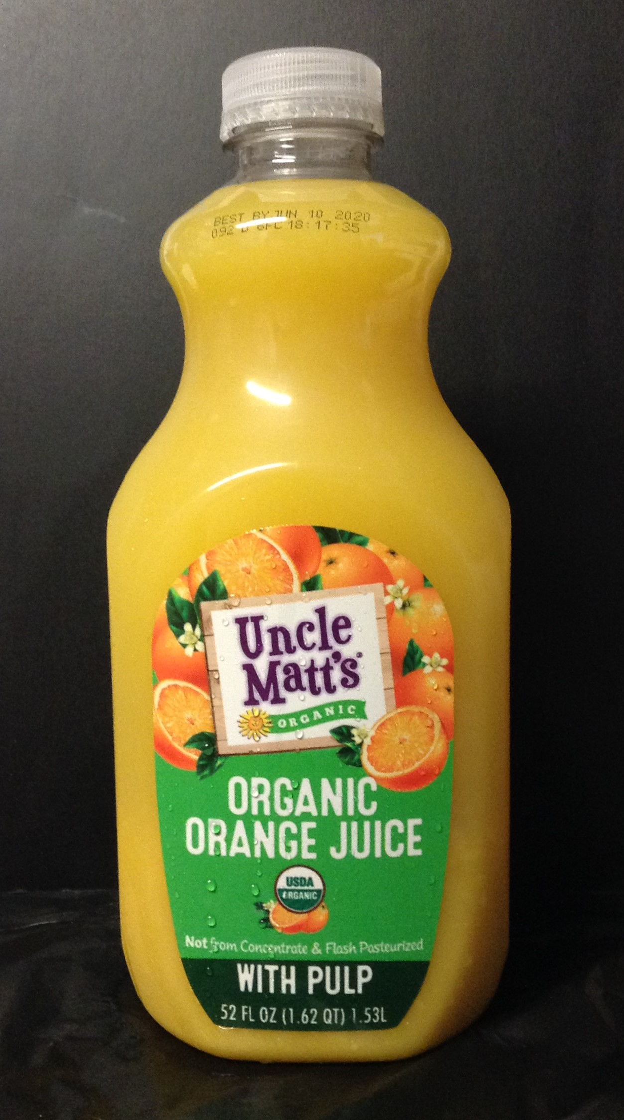 Uncle Matt's Organic Orange Juice - with pulp
