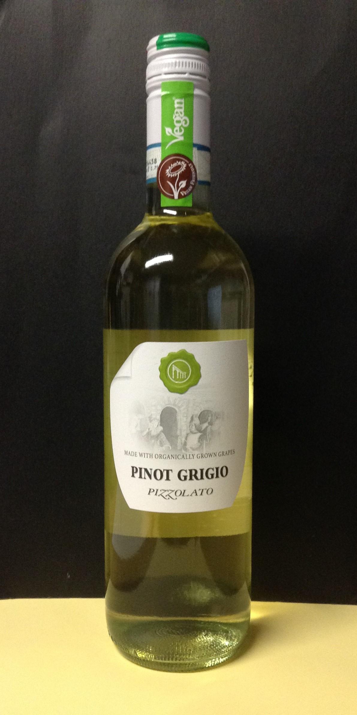 PIZZOLATO Organic Pinot Grigio
